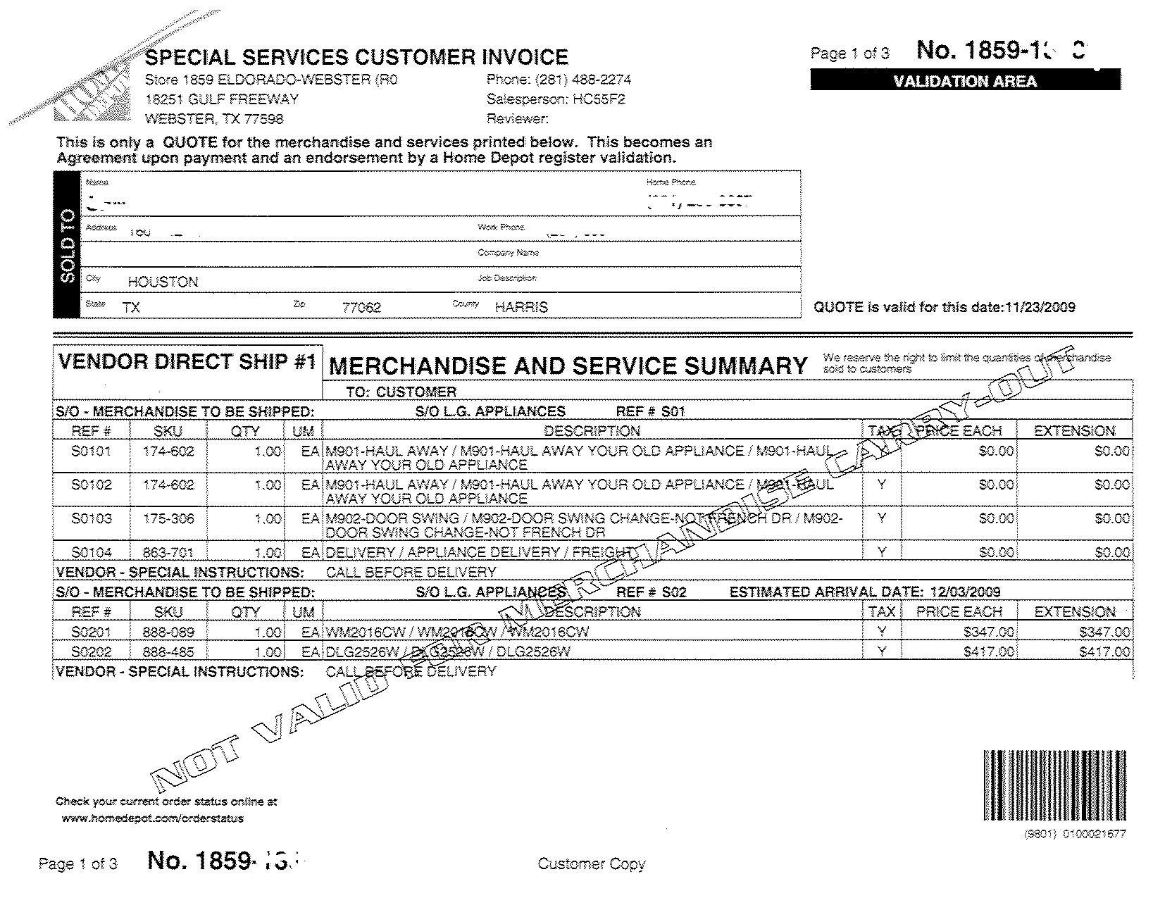 Home Depot Invoice Template 17 Home Depot Receipt Template Application Letter In 17 In 2020 Receipt Template Templates Payroll Template