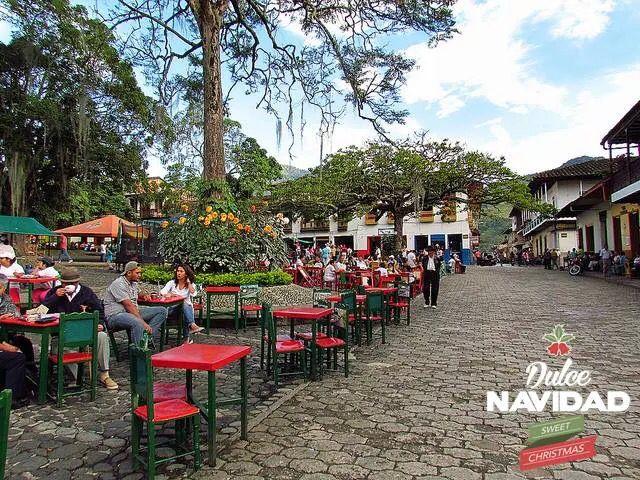 Colombia parque de jard n antioquia favorite places for Barrio el jardin cali colombia