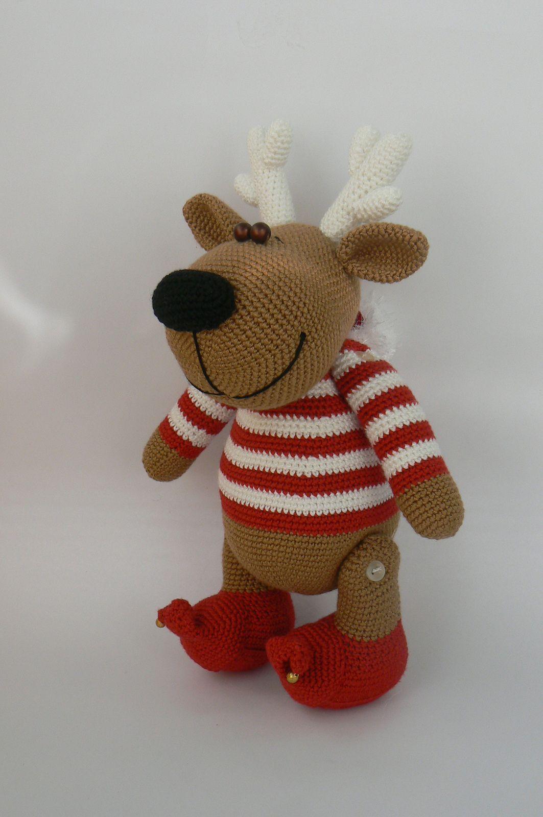 Ravelry: Christopher the Reindeer pattern by Katka Reznickova