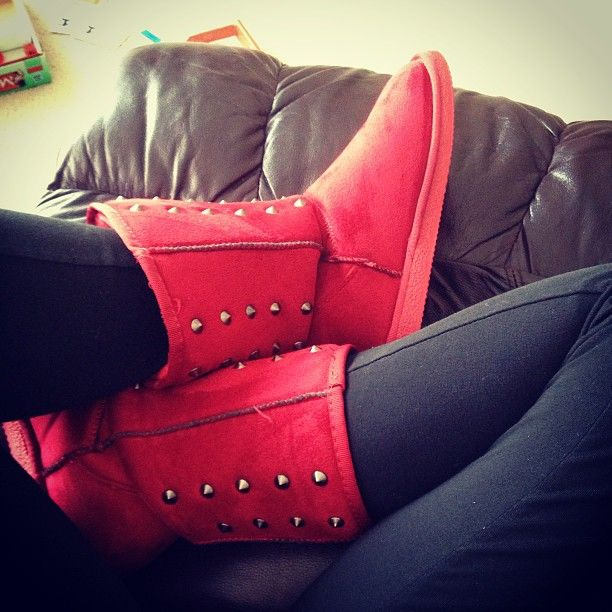 Not with the leggings, but the boots are cute.