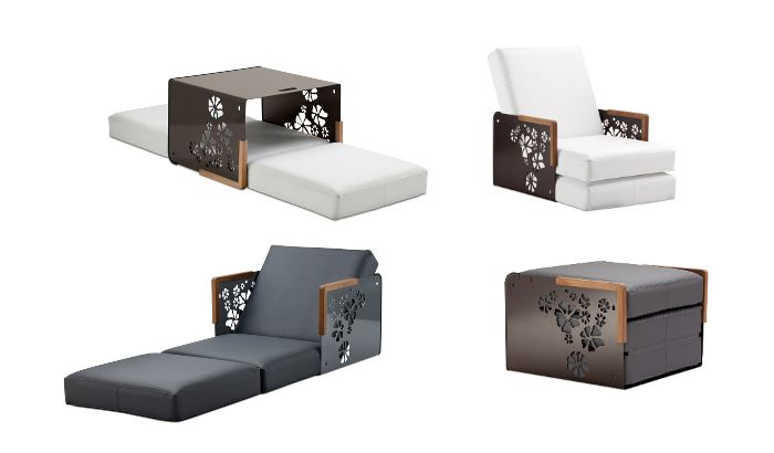 multi function furniture. available at ego paris multifunction furniture kube multi function