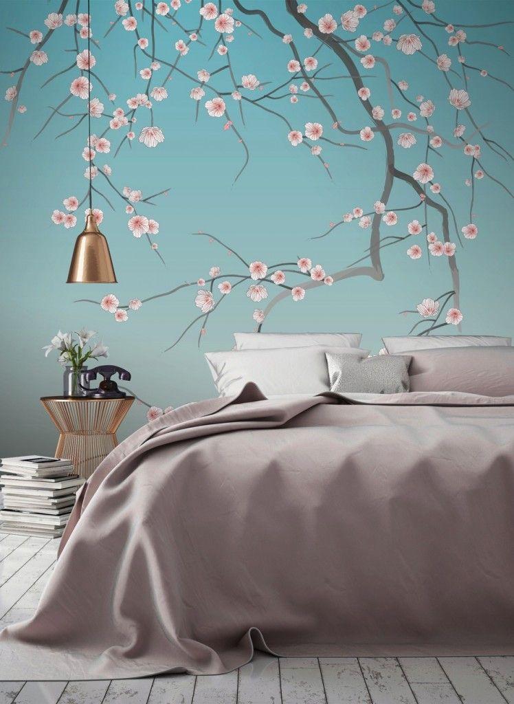 papier peint adh sif pr t poser de papermint papiers. Black Bedroom Furniture Sets. Home Design Ideas