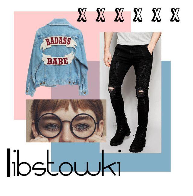 """""""Libstowki X"""" by libstowki on Polyvore featuring Sik Silk y vintage"""
