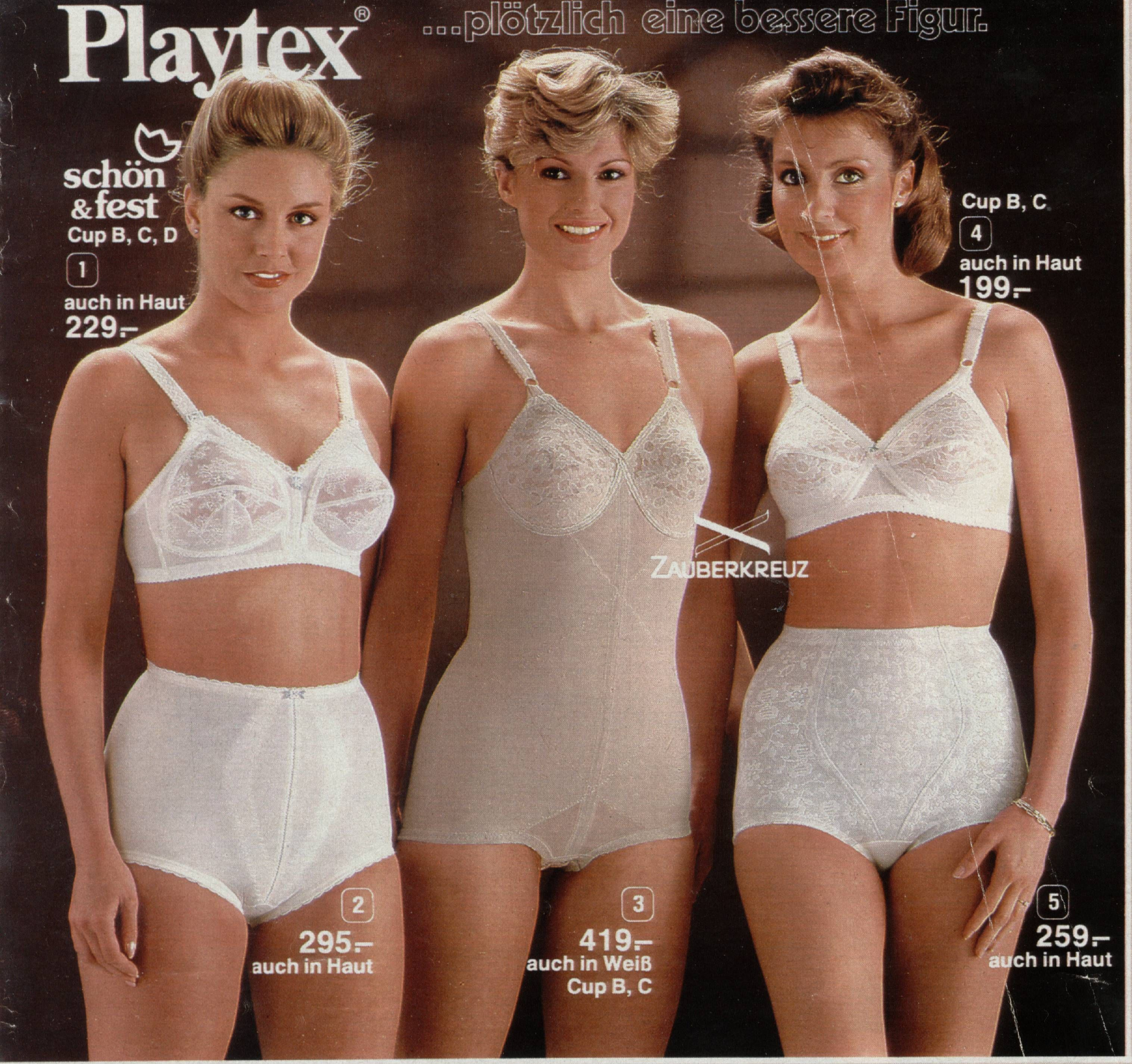 1981 Advert For Playtex Corselette And Panty Girdles Playtex Pinterest