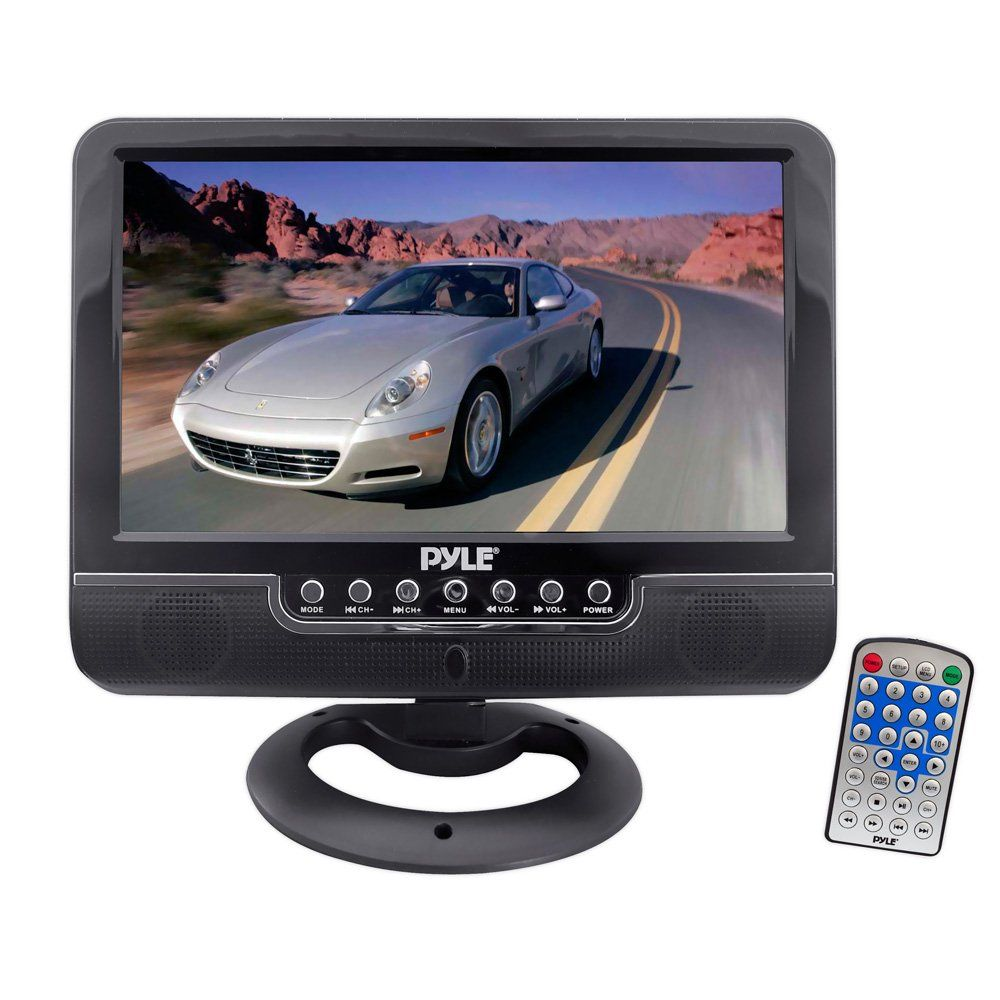 NEW  Pyle PLVHR75 7/'/' TFT Wide Screen Headrest Monitor