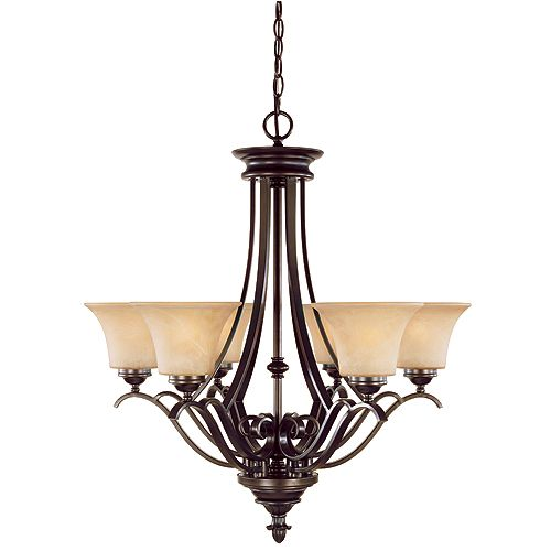 6-light chandelier | RONA  sc 1 st  Pinterest & 6-light chandelier | RONA | Chandeliers and Hanging Lights ...