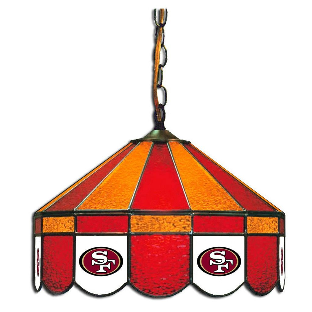 The San Francisco 49ers 16 Gl Lamp For Man Caves And Rooms