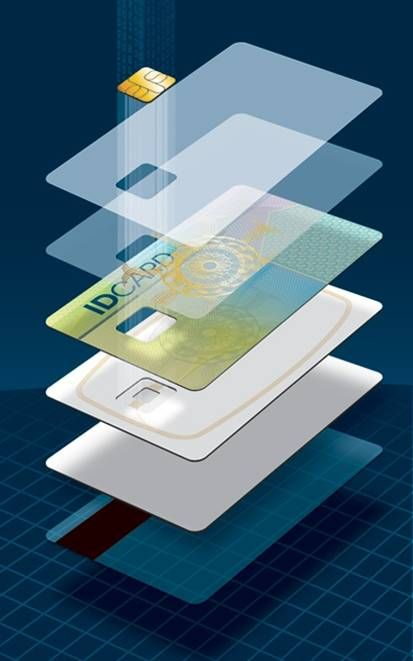 A Break Down Of The Layers Of A Smart Card