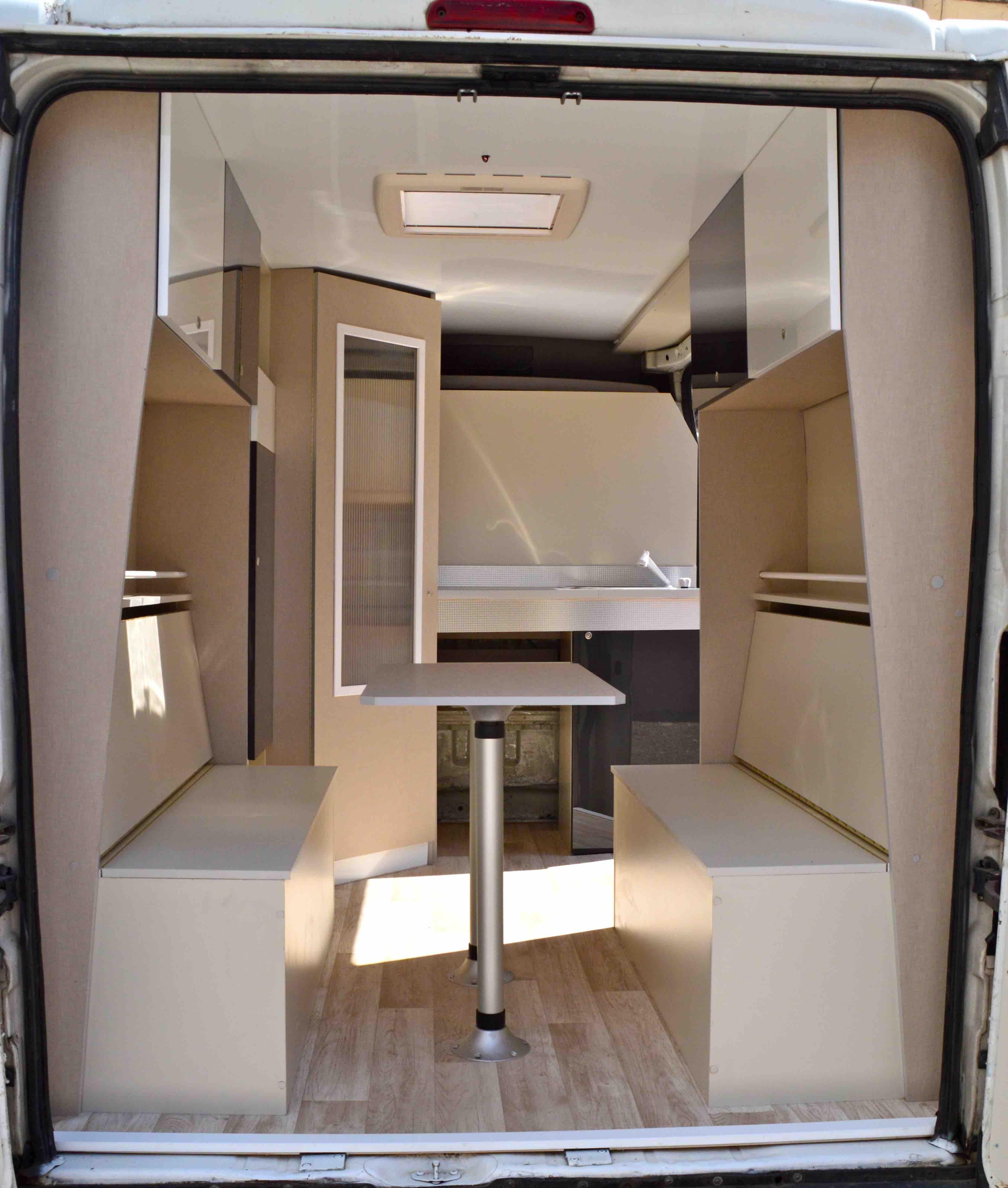 Citroen Jumper Equipada Furgonetas Preparadas Y Equipadas Vacaciones Camper Van BedCampervan