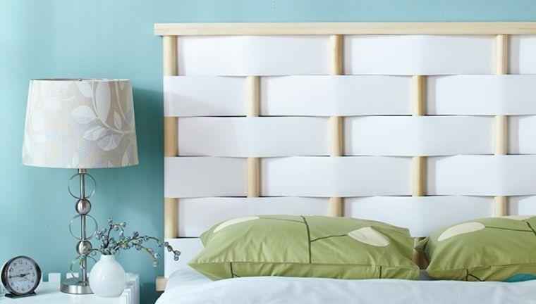 Comment fabriquer une tête de lit originale Tetes de lits