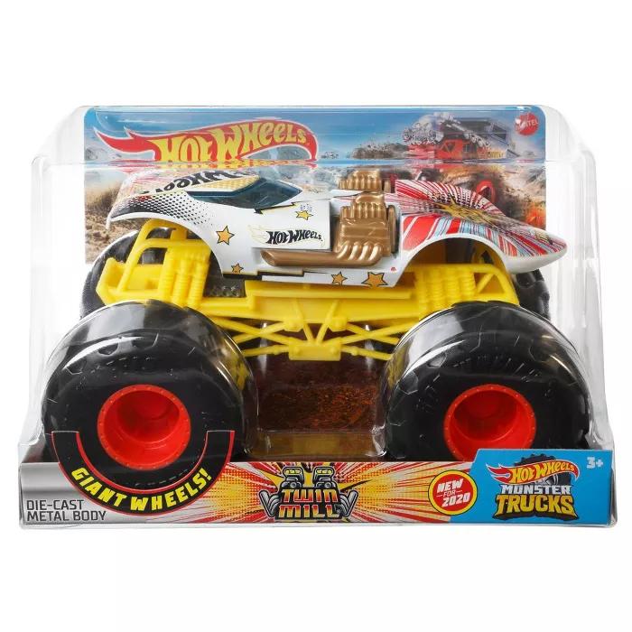Hot Wheels Monster Trucks Twin Mill 1 24 Scale Monster Trucks Hot Wheels Monster