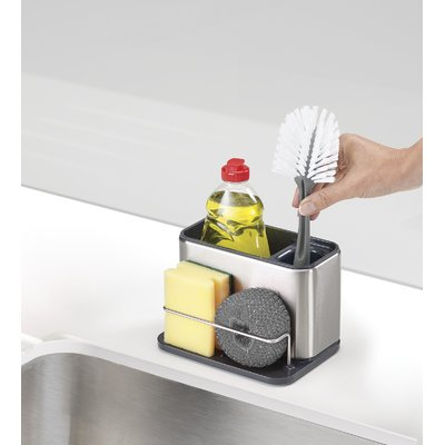 Joseph Joseph Surface Stainless Steel Sink Caddy Wayfair In 2020 Stainless Steel Sinks Steel Kitchen Sink Sink Accessories