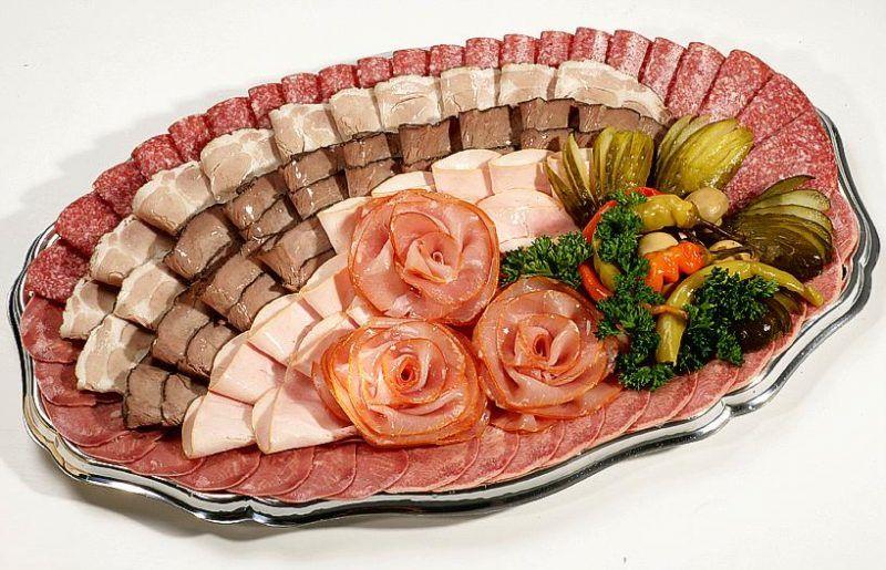 пошаговая схема выкладки нарезки мяса фото сравнили эту
