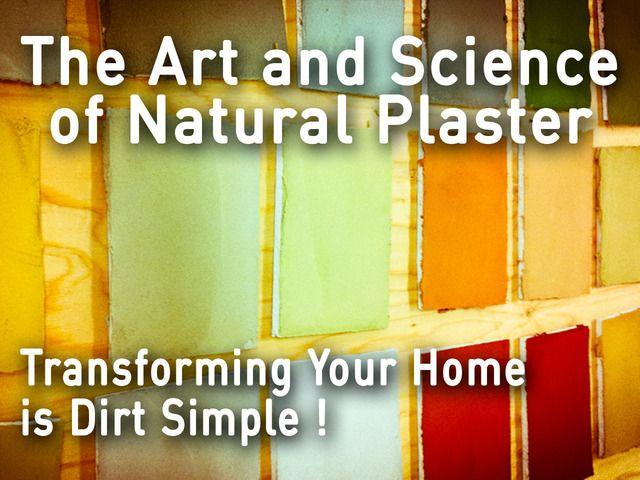 The Art and Science of Natural Plaster by Studiomelies — Kickstarter