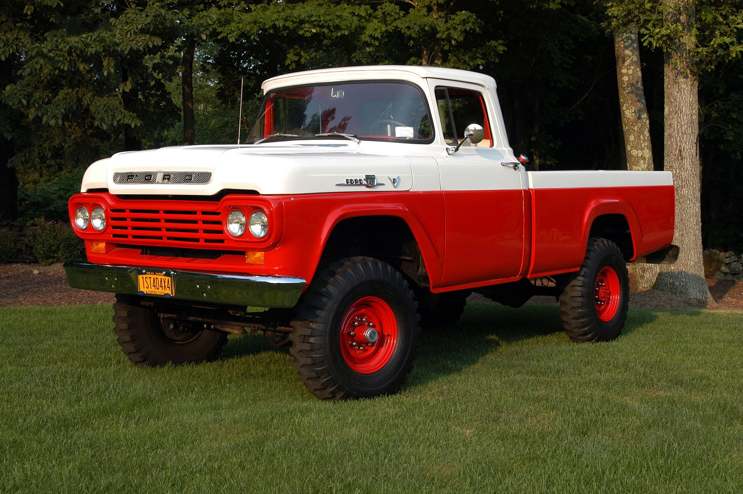 1959 Ford F 350 Brewster 10509 0 With Images Classic Ford