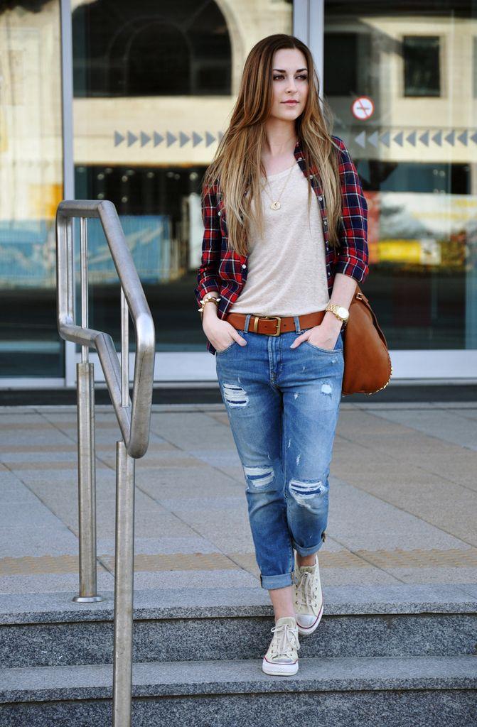 boyfriend jeans 023 | looks tenis | Pinterest | Boyfriends, Search ...