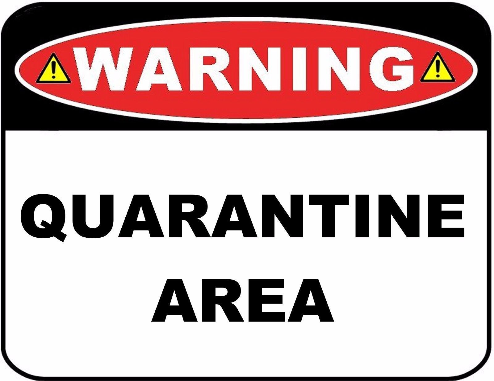 It's just a graphic of Quarantine Sign Printable for transparent