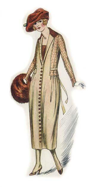 vetements en 1920 femmes en 1900 1900 1919 women 39 s illustrated fashions pinterest. Black Bedroom Furniture Sets. Home Design Ideas