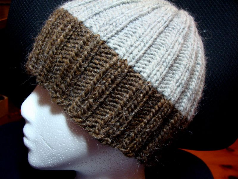 Knitting Hat Patterns For Men : Free knitted men hat patterns now norma knits