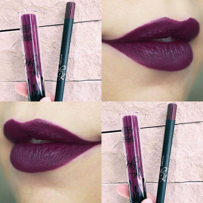 Procurando Dupe – o batom roxo Kourt K da Kylie Jenner