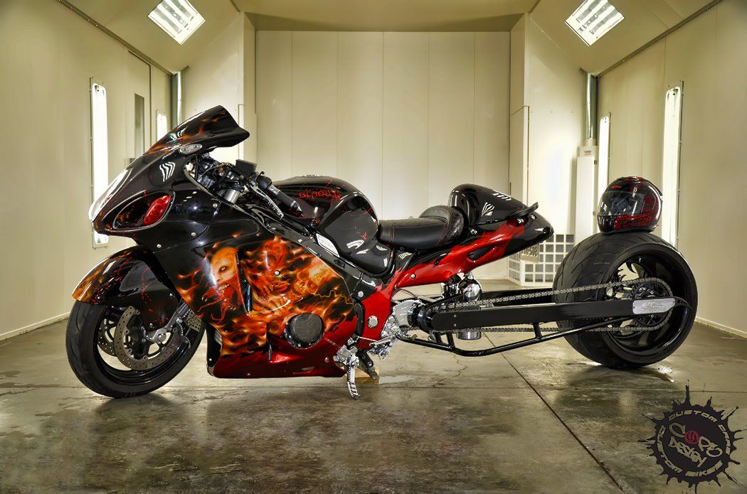 Exceptionnel Candy Cars | BASF Refinish   Suzuki Hayabusa Candy Painted With Carizzma