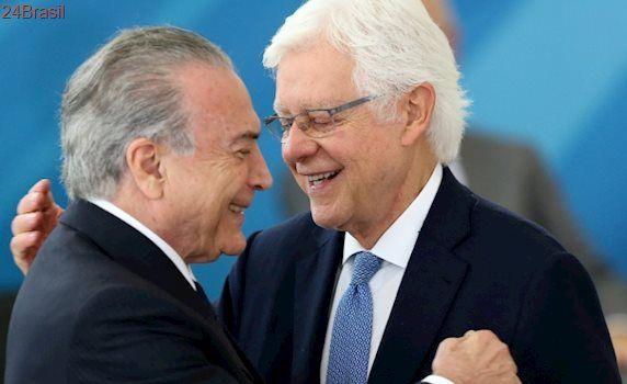 Citado em delações da Lava Jato: Juiz do DF suspende nomeação de Moreira Franco como ministro