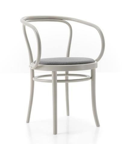 Gebruder Thonet Wiener Stuhl Bentwood Armchair With Upholstered Seat By Gtv Unique Furniture Pieces Furniture Chair