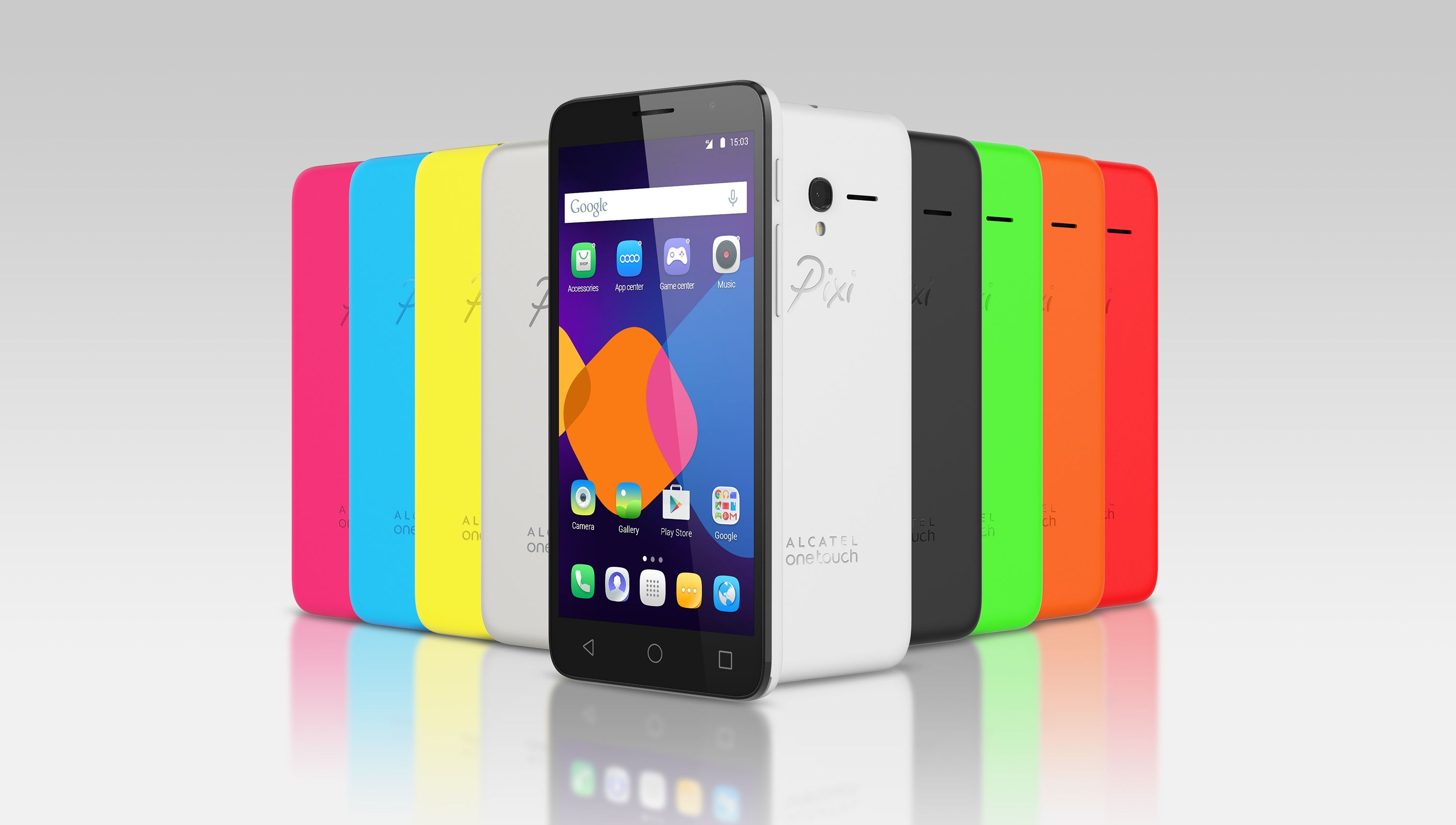 The Alcatel eTouch PIXI 3 is an Android smartphone sporting a screen quad core processor of RAM