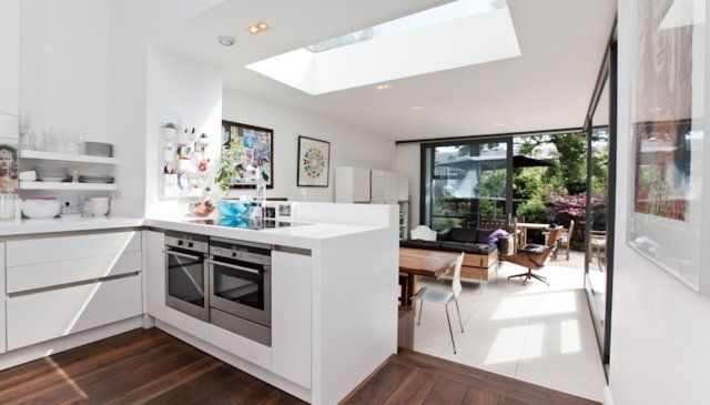 Terraced house kitchen extension google search kitchen for Terrace kitchen ideas