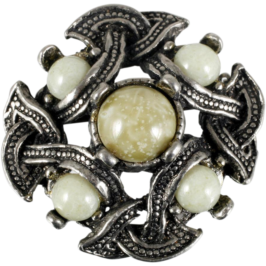 penannular to vintage scottish expand click celtic item full sterling brooch silver in