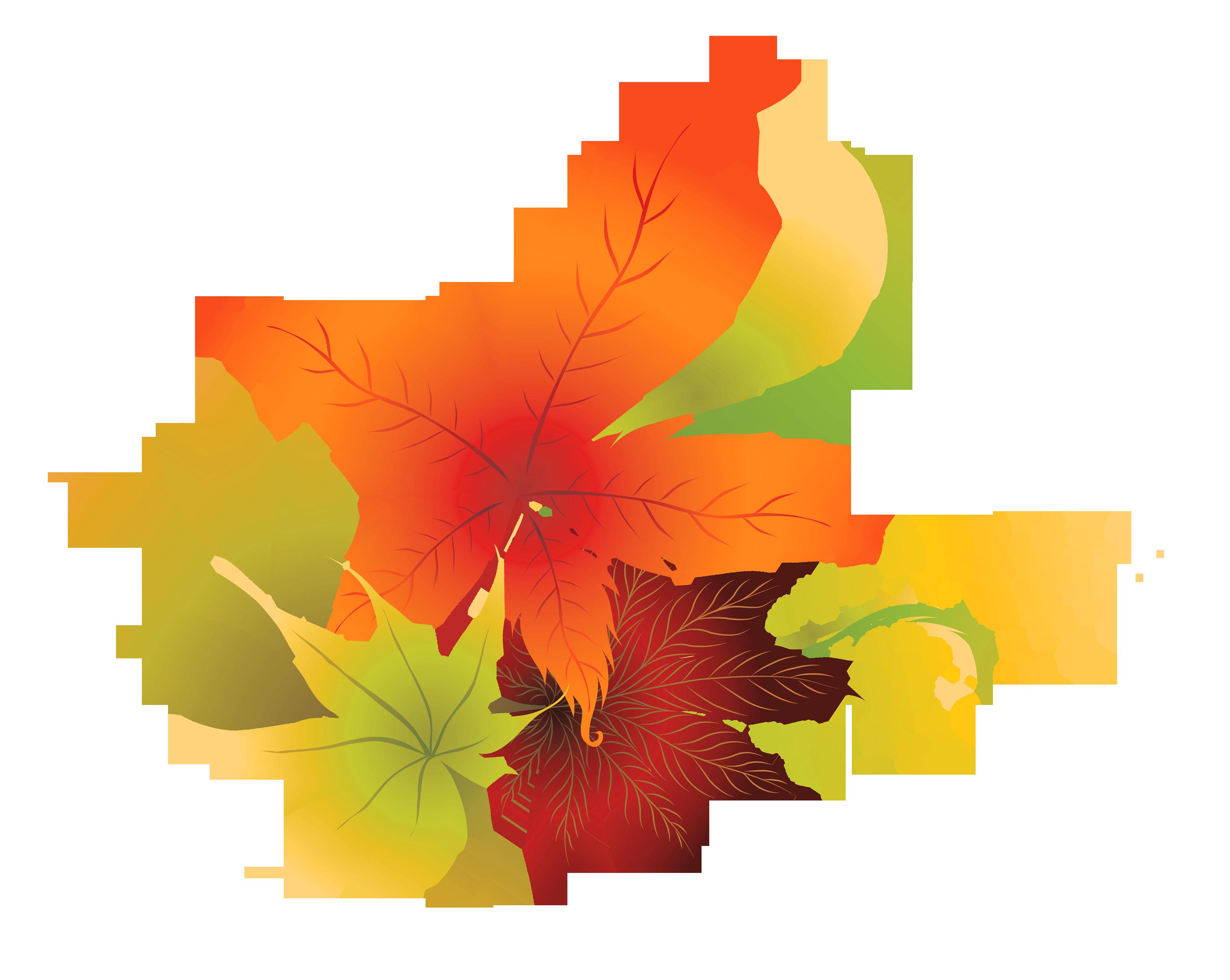 fall leaves leaf clipart