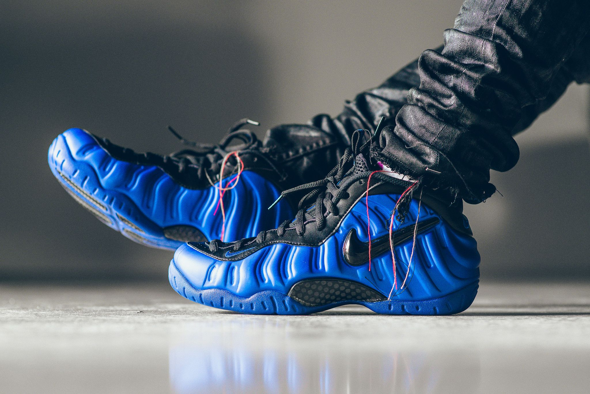e5cd3110c91 An On-Feet Look At The Nike Air Foamposite Pro Hyper Cobalt