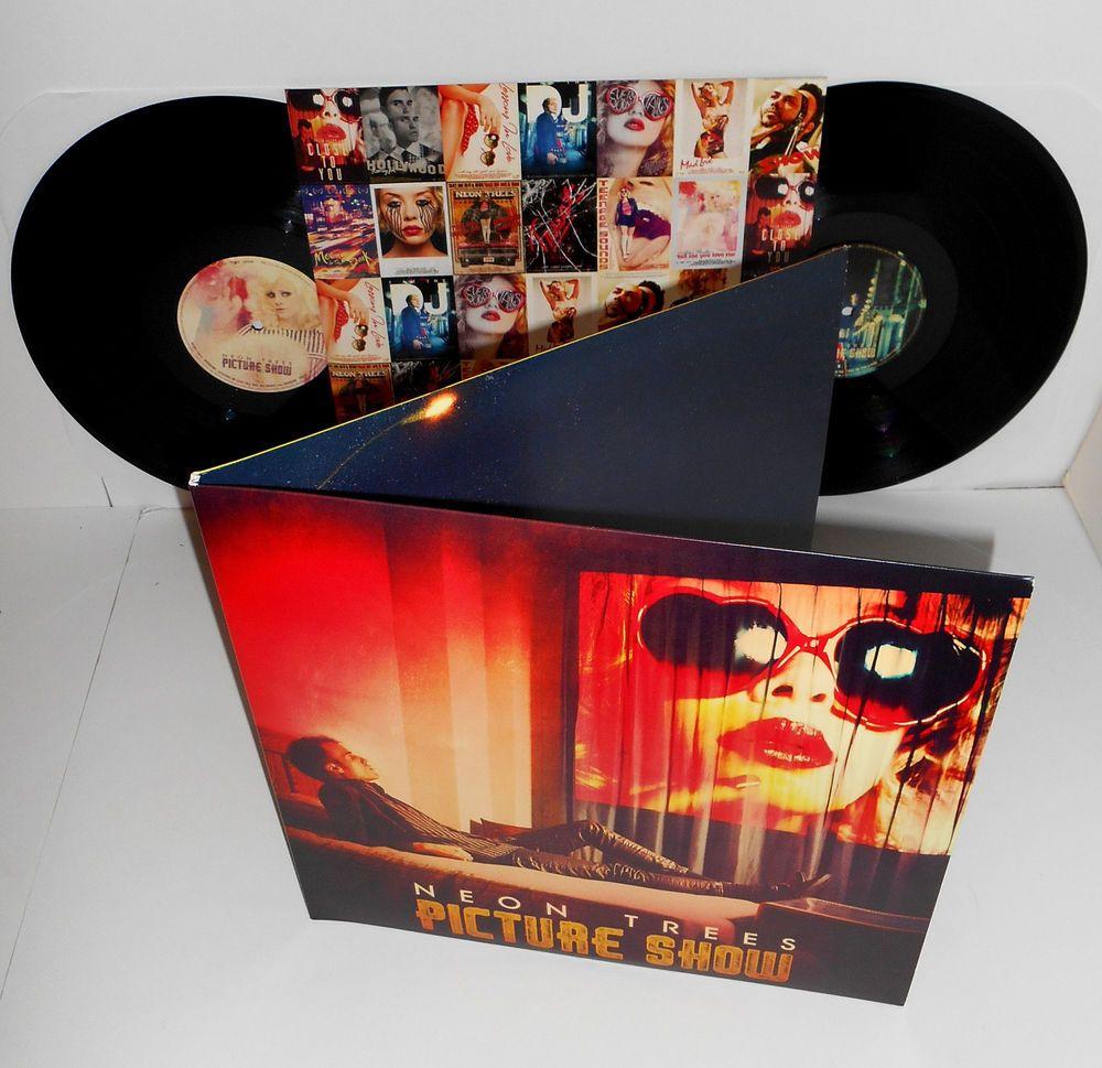 NEON TREES picture show Lp DOUBLE VINYL Record with lyrics
