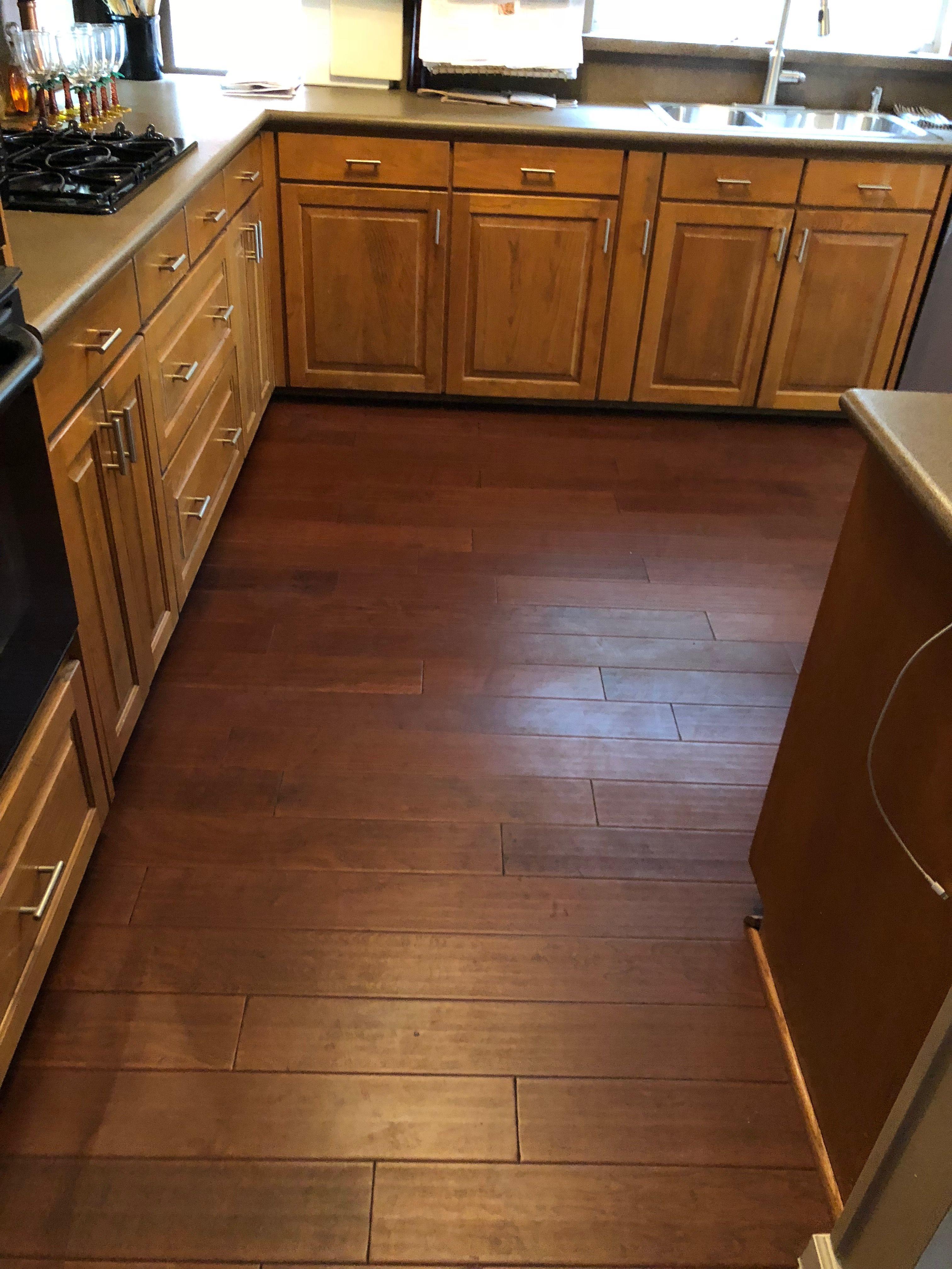 Lwflooring Hard Maple Color Amber Herringbone Wood Floor Hardwood Floors Kitchen Flooring