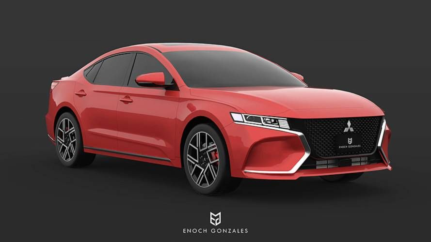 2020 Mitsubishi Galant Is Unfortunately Only A Nice Render Mitsubishi Galant Sedan Mitsubishi Cars