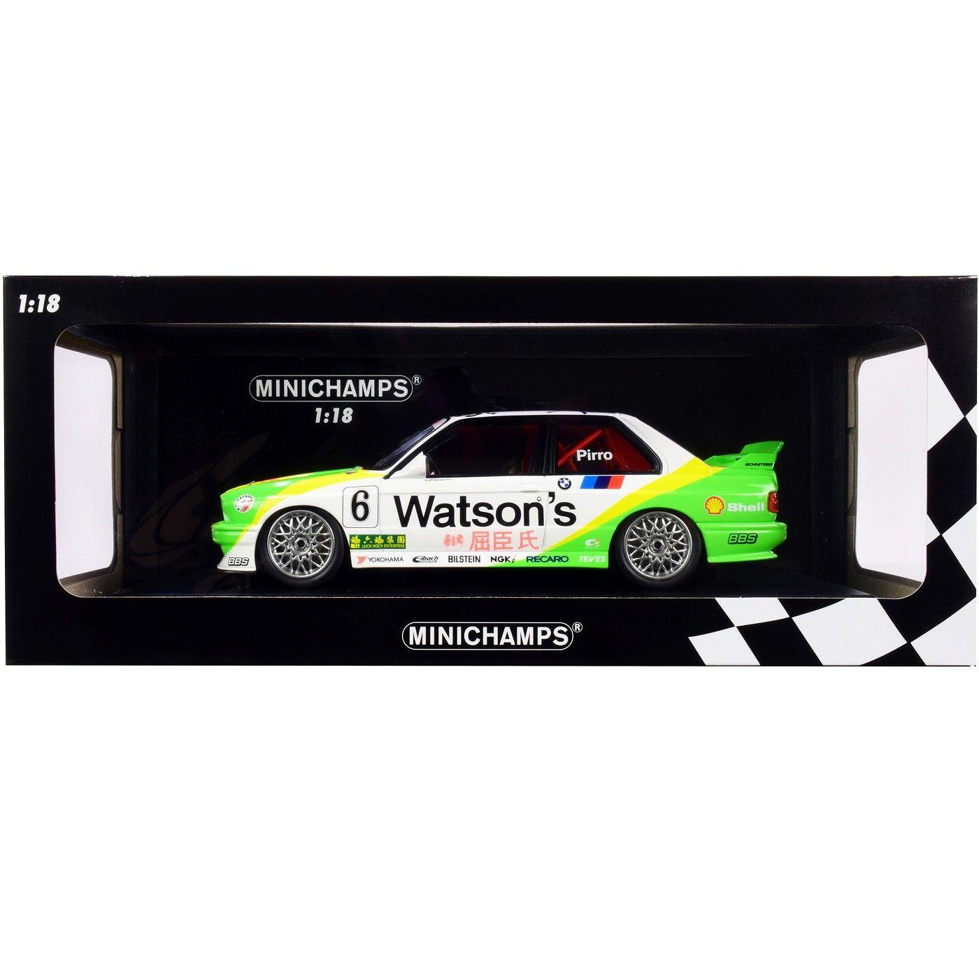 Bmw M3 6 Emanuele Pirro Bmw M Team Schnitzer Winner Macau Guia Race 1991 Limited Edition To 300 Pieces 1 18 Diecast Model Car By Minichamps In 2021 Diecast Model Cars Car Model Bmw M3 [ 1400 x 1400 Pixel ]