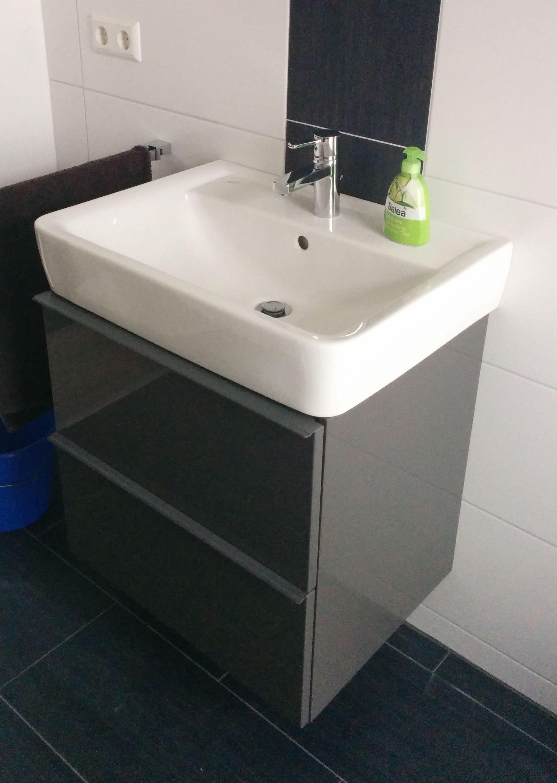 renova plan 1 65er becken mit ikea unterschrank | badeinrichtung