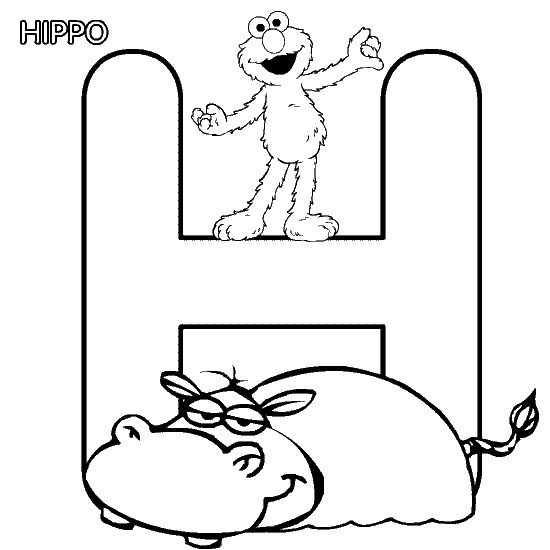 Elmo Coloring Page Print Elmo Pictures To Color At Allkidsnetwork Com Alphabet Coloring Pages Abc Coloring Pages Elmo Coloring Pages