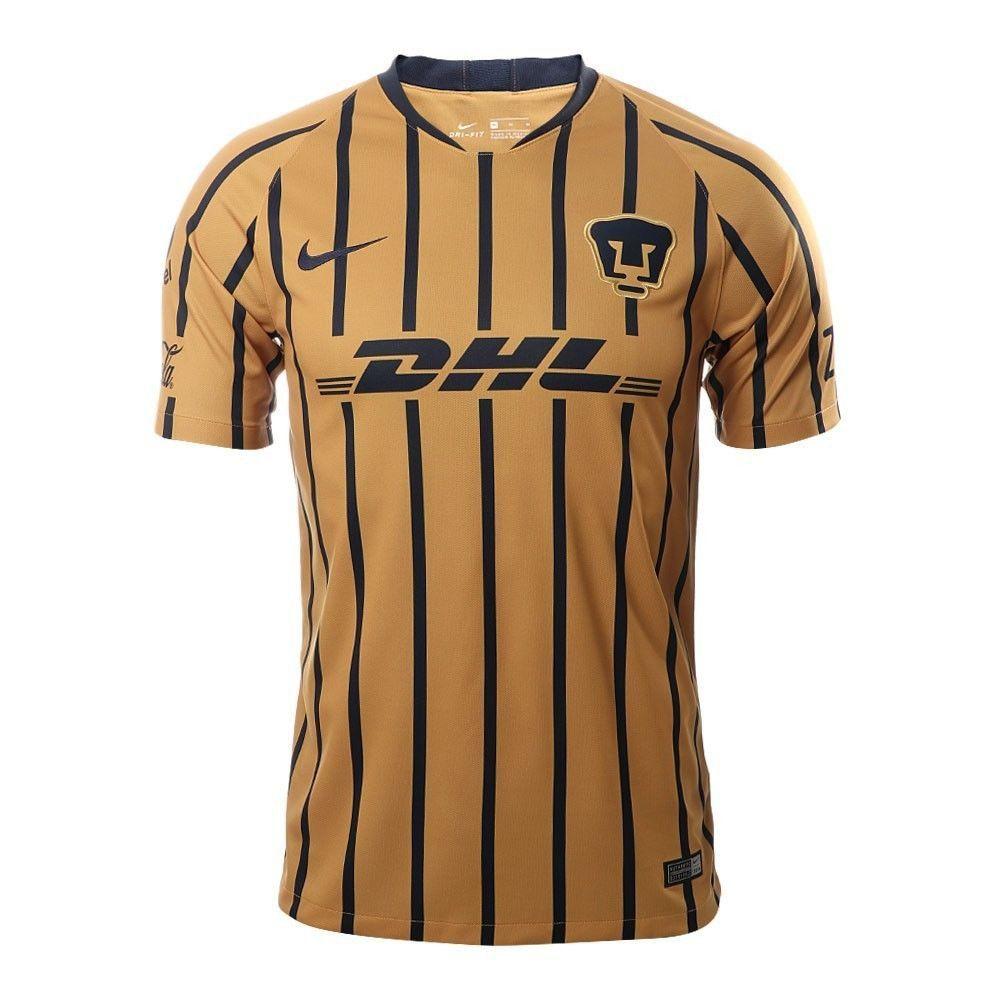 hot sale online ccff5 592b5 FAN SHIRT soccer Pumas UNAM LIGA MX away Jersey 2018-2019 ...