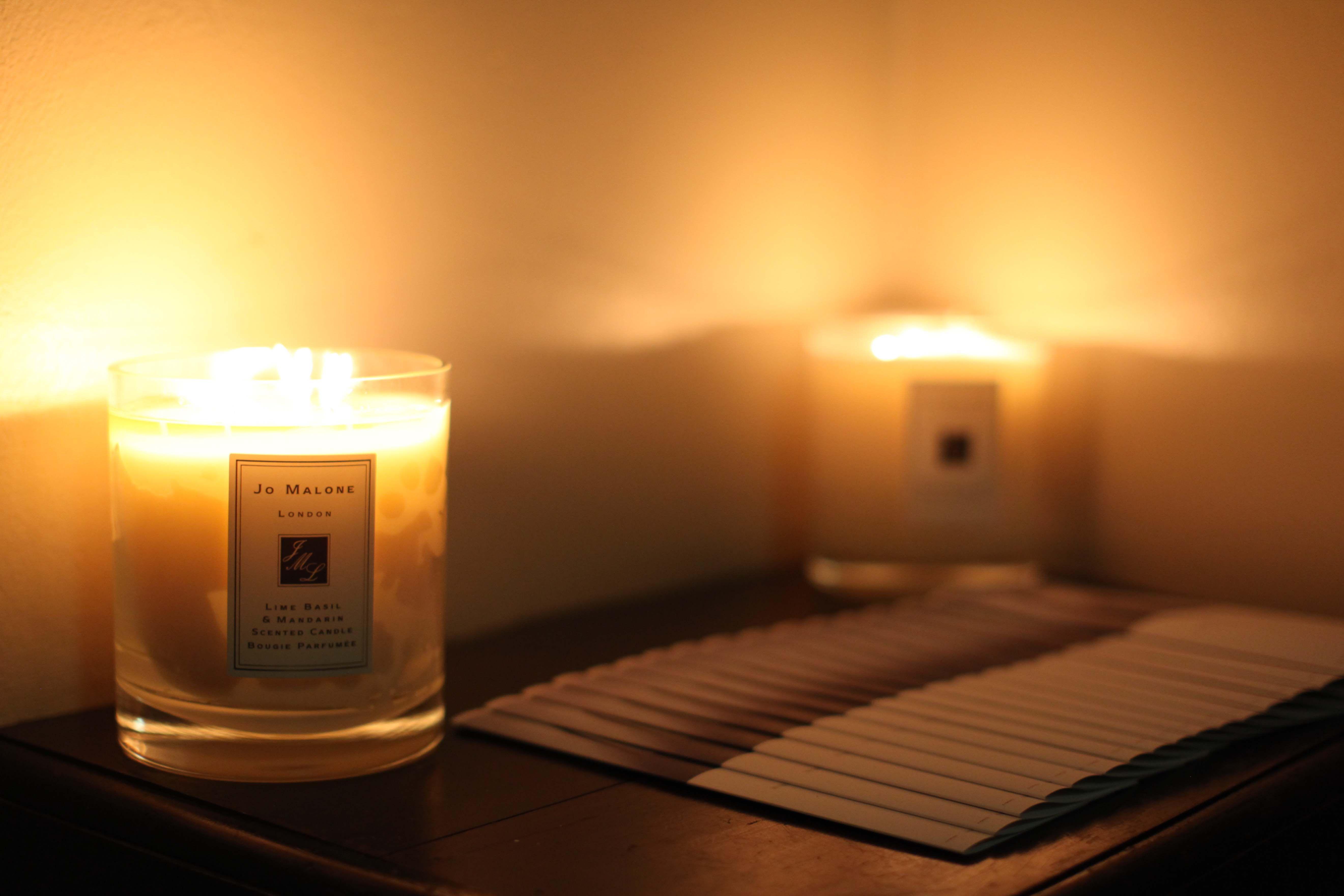 jo malone candles | juliette hogan winter 2014 collection show