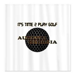 time 2 golf Shower Curtain