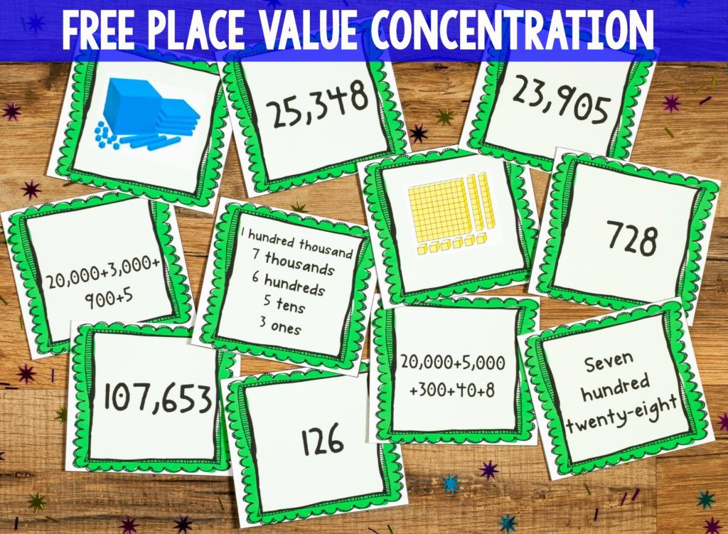 4th Grade Place Value and Rounding