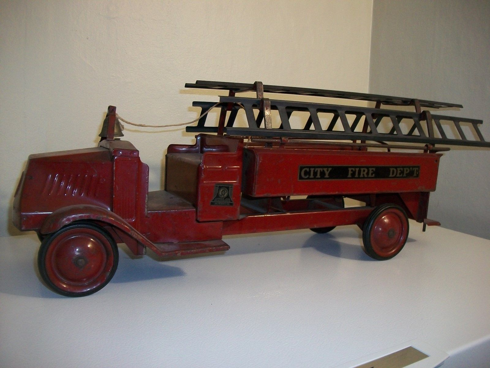 Toy trucks vintage fire