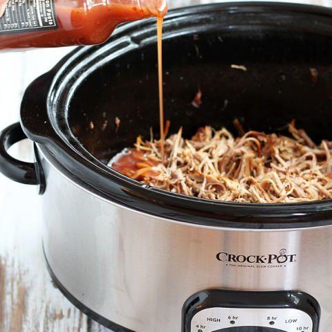 3-Ingredient Slow Cooker Pulled Pork