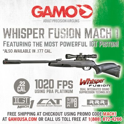 Gamo Outdoor USA , is introducing the new and powerful Whisper