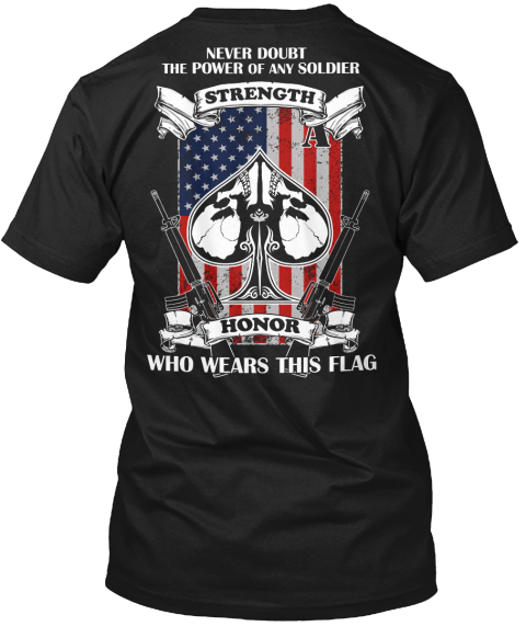 THE T-SHIRT EVERY AMERICAN SHOULD HAVE.It is everycaring patriot'sduty to strengthen our country. Guaranteed safe and secure checkout via: Paypal | VISA | MASTERCARD