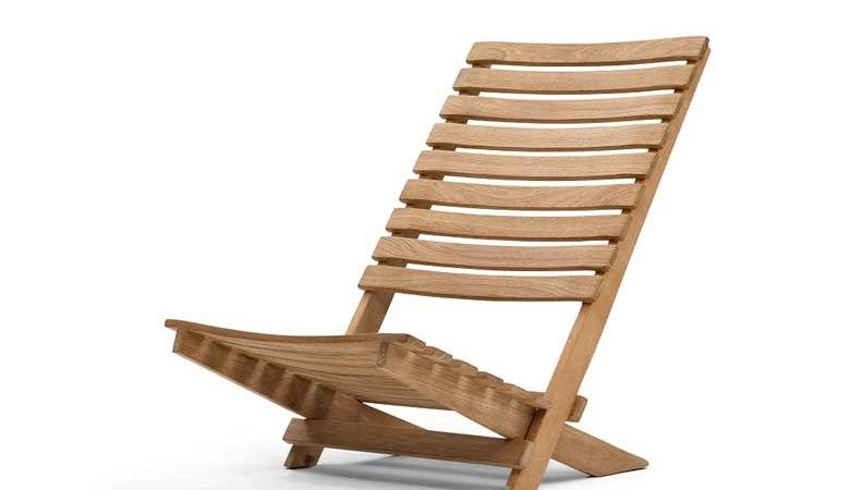 Dania Folding Teak Beach Chair By Skagerak Folding Beach Chair Wooden Beach Chairs Beach Chairs