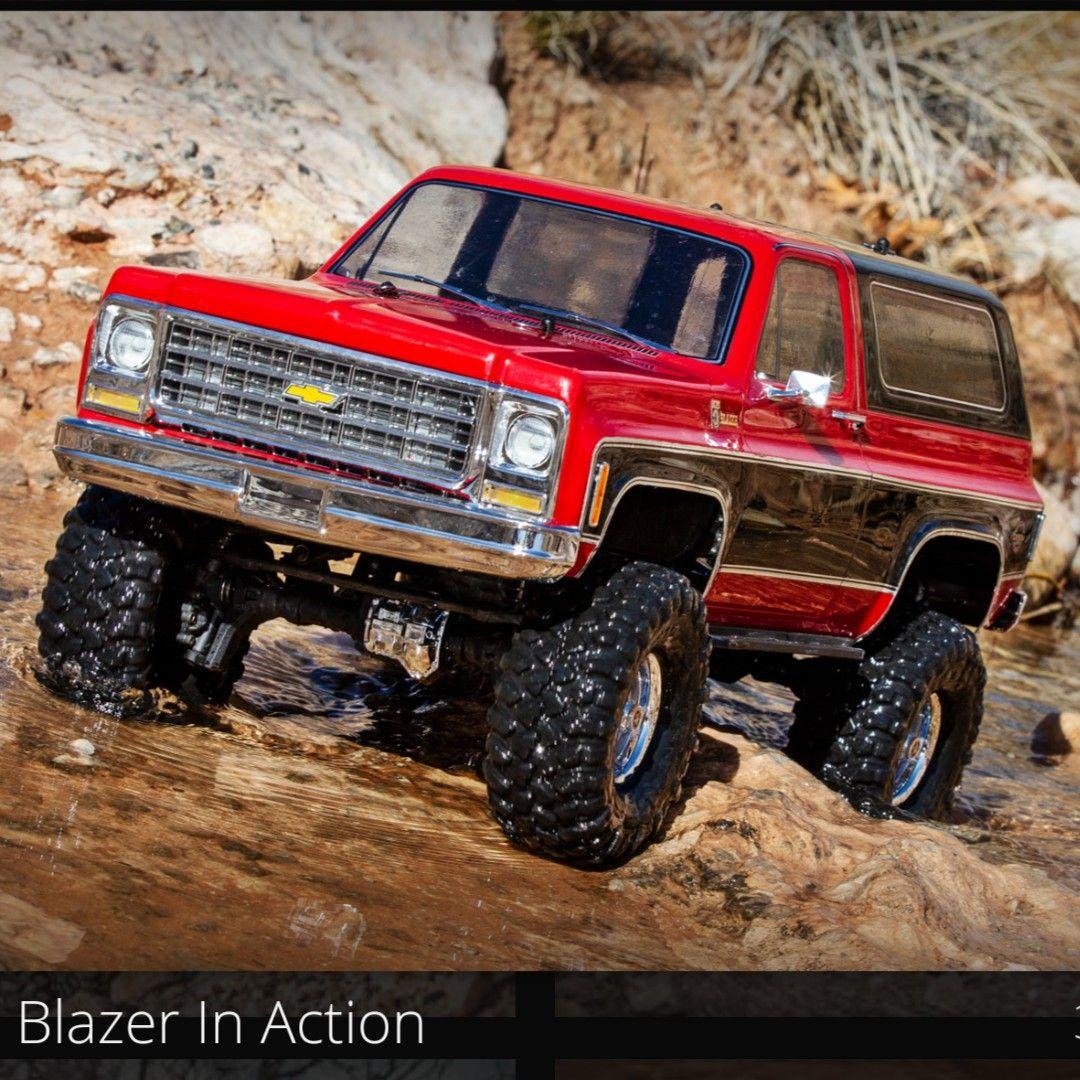 New Traxxas TRX4 Chevrolet Blazer! Thank You Traxxas