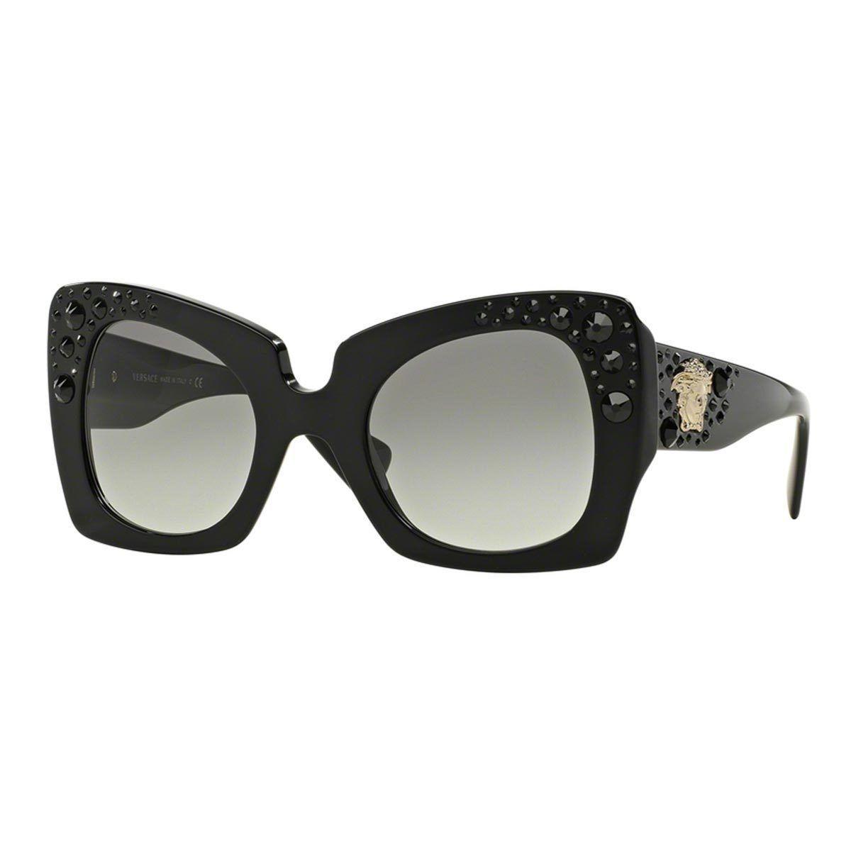 25e76593a07d Versace Women s VE4308B 54 Butterfly Sunglasses