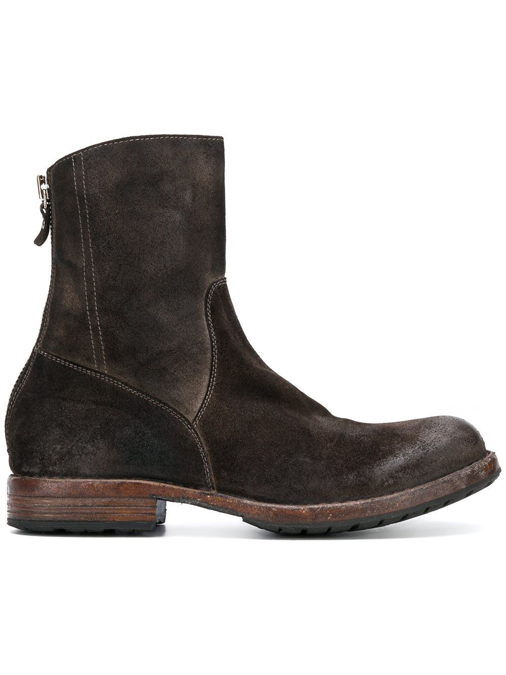 7cc89aa051c1d Moma Rear-zip ankle boots   Shoes   Boots, Ankle boots, Ankle